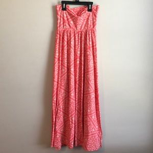 Poof! Skirts - Pink maxi skirt